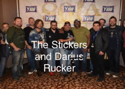 The Stickers and Darius Rucker