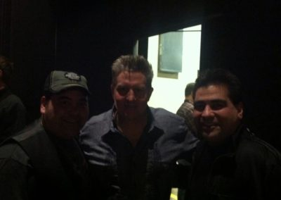 The Stickers with Gary LeVox backstage at Opry
